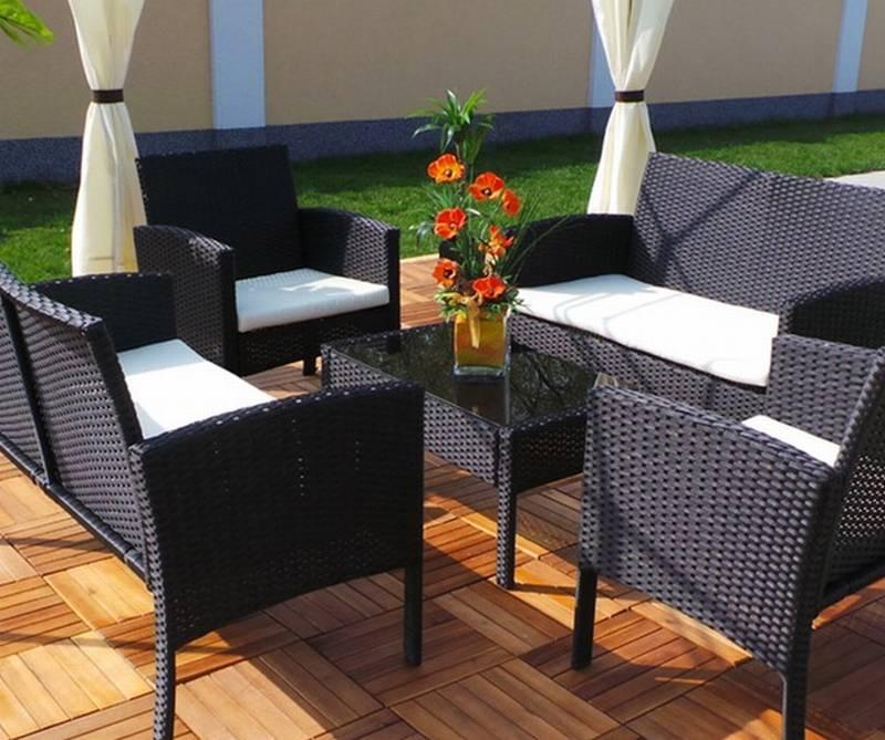 Wetterfeste Gartenmöbel und Gartenmöbel richtig überwintern