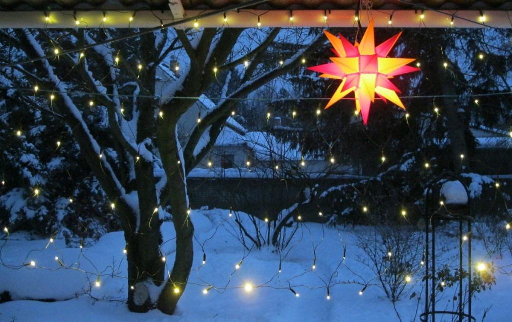Winterdekoration Fur Den Garten Und Die Terrasse