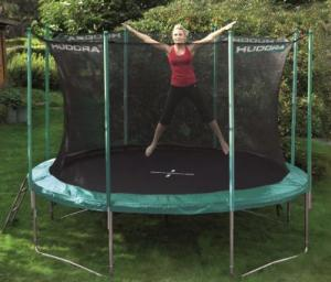 spa im garten das hudora trampolin. Black Bedroom Furniture Sets. Home Design Ideas